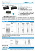URF_LP-20WR3 / 4:1 / 20 watt / dc dc converter / 3000Vdc isolation - 1
