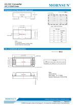 URF_LP-20WR3 / 4:1 / 20 watt / dc dc converter / 3000Vdc isolation - 5