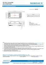 URF_LP-20WR3 / 4:1 / 20 watt / dc dc converter / 3000Vdc isolation - 6