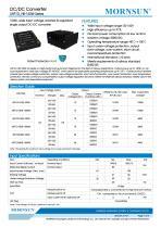 URF1D_HB / 150watt DC-DC converter / 4:1 / Railway application / 66-160vdc input - 1