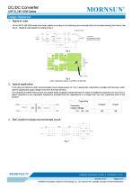 URF1D_HB / 150watt DC-DC converter / 4:1 / Railway application / 66-160vdc input - 5