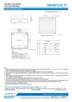 URF1D_HB / 150watt DC-DC converter / 4:1 / Railway application / 66-160vdc input - 8