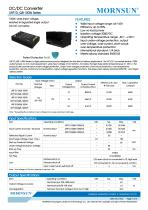 URF1D_QB-100W:Meets railway standard EN50155 - 1