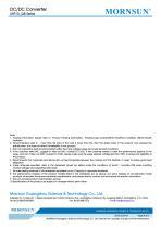 URF1D_QB / 50-100watt DC-DC converter / 4:1 / Railway application / 66-160vdc input - 8