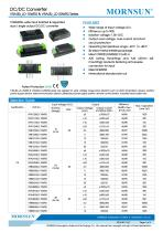 VRA_LD-15WR2 / 2:1 / 15 watt / dc dc converter - 1
