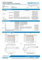 VRA_LD-15WR2 / 2:1 / 15 watt / dc dc converter - 4