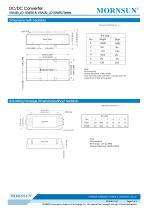 VRA_LD-15WR2 / 2:1 / 15 watt / dc dc converter - 7