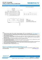 VRA_LD-15WR2 / 2:1 / 15 watt / dc dc converter - 9