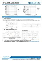 "VRA_YMD-6WR3 / 2:1 / 1""*1"" /6 watt dc dc converter - 4"