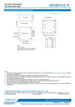 VRB_YMD-20WR3 series are isolated 20W DC-DC products with 2:1 input voltage - 6