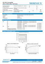 WRA_S-1WR2 / 2:1 /1watt DC-DC converter / Dual output - 3