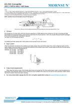 WRA_S-1WR2 / 2:1 /1watt DC-DC converter / Dual output - 5