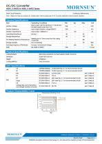 WRB_S-1WR2 / 2:1 / 1watt DC-DC converter / Single output - 3