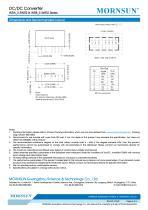 WRB_S-1WR2 / 2:1 / 1watt DC-DC converter / Single output - 6