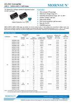 WRF_S-1WR2 / 2:1 / 1watt DC-DC converter / Single output - 1