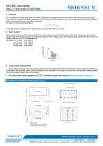 WRF_S-1WR2 / 2:1 / 1watt DC-DC converter / Single output - 5