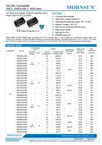 WRF_S-3WR2 / 2:1 / 3watt DC-DC converter / Single output - 1