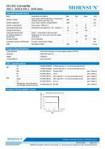WRF_S-3WR2 / 2:1 / 3watt DC-DC converter / Single output - 3