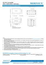 WRF_S-3WR2 / 2:1 / 3watt DC-DC converter / Single output - 6