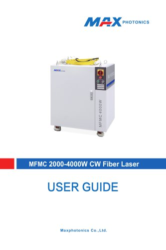 2000W-4000W Multi-module CW Fiber Laser  V1.1