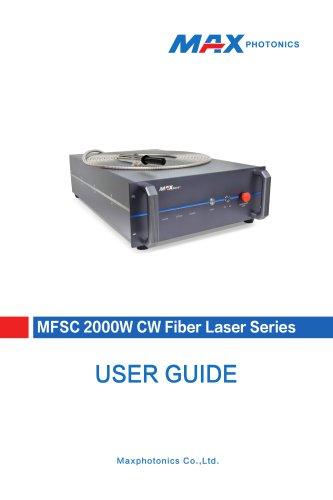 2000W Single-module CW Fiber Laser  V1.0