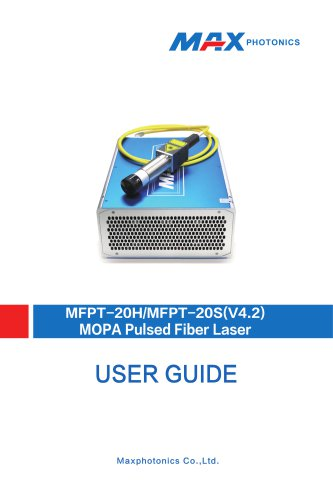 20H&MFPT-20S Q-switched Fiber Laser V1.4