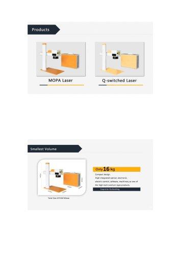 Maxphotonics Smart fiber laser machine