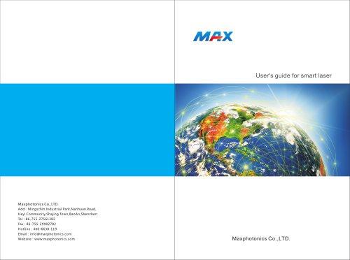 MFS Series Smart Fiber Laser Marking Machine User's Guide