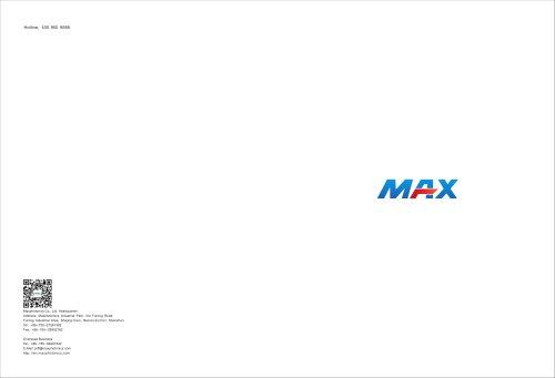 New catalogue for Maxphotonics