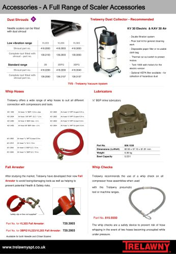needle & chisel accessories