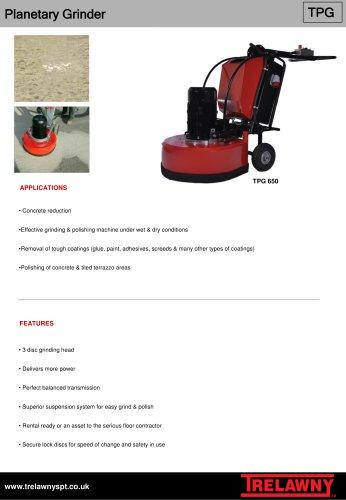 Planetary grinder TPG 650