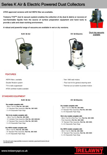 Vacuums Series K