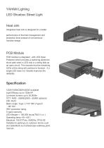 ahamlighting Shoebox Street light  suitable forParking Lots, airports, roadways, campuses and streetscapes.