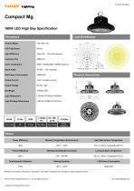 Compact Mg 180W LED High Bay - 1