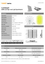 LED HIGH MAST LIGHT |600W Lumiway3 High mast light Specification - 1