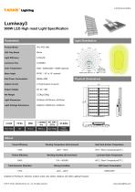 LED HIGH MAST LIGHT |900W Lumiway3 High mast light Specification - 1