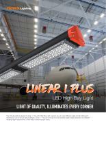 Linear I Plus LED High Bay Light - 1