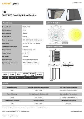 Tri 300W LED