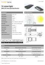 Tri street light 60W LED - 1