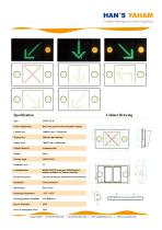 YAHAM LANE CONTROL SIGNS CATALOGUE - 2