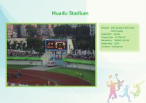 YAHAM led display for A Collection of  Sports  Installations catalogue - 10
