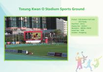 YAHAM led display for A Collection of  Sports  Installations catalogue - 12