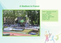 YAHAM led display for A Collection of  Sports  Installations catalogue - 16