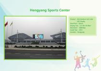 YAHAM led display for A Collection of  Sports  Installations catalogue - 18