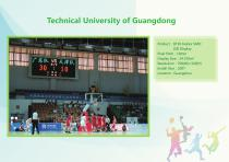 YAHAM led display for A Collection of  Sports  Installations catalogue - 20