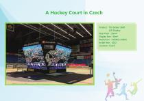 YAHAM led display for A Collection of  Sports  Installations catalogue - 25