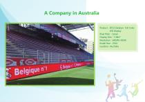 YAHAM led display for A Collection of  Sports  Installations catalogue - 29