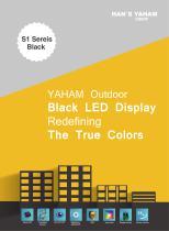 Yaham Outdoor Black LED Display - 1