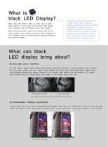 Yaham Outdoor Black LED Display - 2
