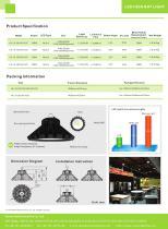 YAHAM's LED high bay light catalogue - 2